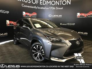 Used 2017 Lexus NX 200t F SPORT SERIES 1 for sale in Edmonton, AB