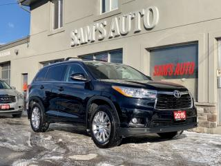 Used 2015 Toyota Highlander AWD 4DR XLE for sale in Hamilton, ON