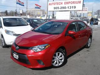 Used 2016 Toyota Corolla LE Camera/Bluetooth/All Power&ABS* for sale in Mississauga, ON