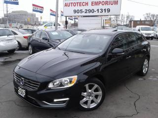 Used 2015 Volvo V60 T5 Drive-E Sunroof/Heated Seats/All Power&GPS* for sale in Mississauga, ON