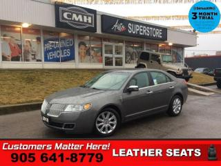 Used 2010 Lincoln MKZ Base  LEATHER  SUNROOF P/SEATS HS for sale in St. Catharines, ON