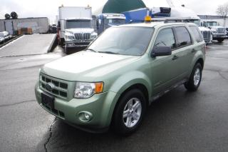 Used 2009 Ford Escape Hybrid AWD with Amber Light Bar for sale in Burnaby, BC