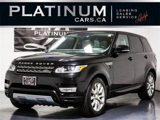 Used 2014 Land Rover Range Rover Sport HSE SUPERCHARGED, 7 PASSENGER, NAVI, Pano for sale in Toronto, ON