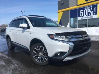 Used 2016 Mitsubishi Outlander GT AWD TOIT PANO for sale in Lévis, QC
