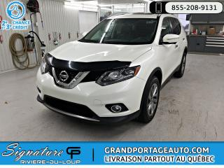 Used 2015 Nissan Rogue SL + AWD + TOIT **CUIR** for sale in Rivière-Du-Loup, QC
