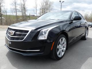 Used 2015 Cadillac ATS 2.5L  , NAV ON STAR, CLÉS INTEL, CUIR for sale in Vallée-Jonction, QC