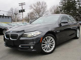 Used 2014 BMW 5 Series 528I XDRIVE~NAVI~86KMS~ONE OWNER~SUNROOF !!! for sale in Burlington, ON