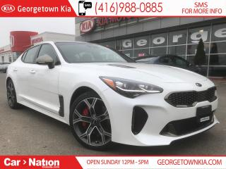 Used 2019 Kia Stinger GT LIMITED | TOP OF THE LINE | $327 BIWEEKLY | for sale in Georgetown, ON