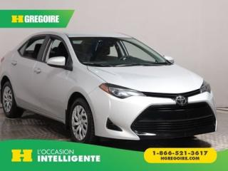 Used 2017 Toyota Corolla Le A/c for sale in St-Léonard, QC