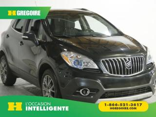 Used 2016 Buick Encore AWD AC GR ELEC for sale in St-Léonard, QC