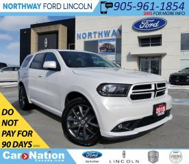 Used 2018 Dodge Durango GT | NAV | HTD PWR LEATHER | REAR DVD | for sale in Brantford, ON