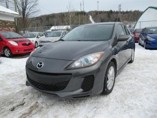 Used 2012 Mazda MAZDA3 Sport GS-SKY Automatique for sale in Québec, QC