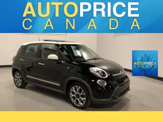 Used 2014 Fiat 500 L Trekking PANOROOF|ALLOYS for sale in Mississauga, ON