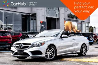 Used 2016 Mercedes-Benz E-Class 550 Cabriolet|H/KSound|Nav|360Camera|LaneKeepAssist for sale in Thornhill, ON