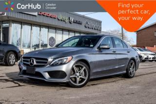 Used 2016 Mercedes-Benz C-Class C 300|4Matic|Navi|Pano Sunroof|Bluetooth|Blind Spot|Backup Cam|Heated Front Seats|17