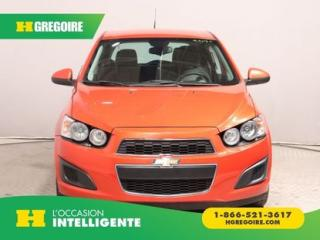 Used 2012 Chevrolet Sonic Ls A/c for sale in St-Léonard, QC