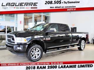 Used 2018 RAM 2500 Laramie for sale in Victoriaville, QC