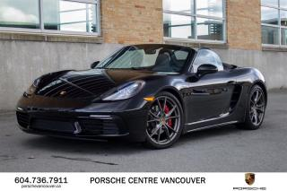 Used 2018 Porsche Boxster 718 S PDK   PORSCHE CERTIFIED for sale in Vancouver, BC