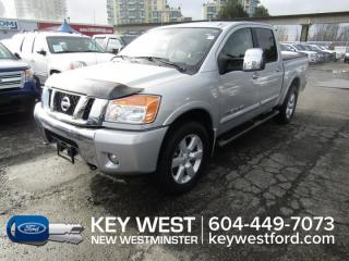 Used 2010 Nissan Titan LE 4x4 Crew Cab 140wb Sunroof Leather Heated Seats for sale in New Westminster, BC