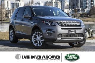 Used 2016 Land Rover Discovery Sport HSE *Certified Pre-Owned 6yr/160,000km Warranty! for sale in Vancouver, BC