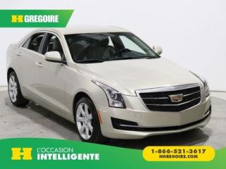 Used 2015 Cadillac ATS 2.0 TURBO AWD CUIR for sale in St-Léonard, QC