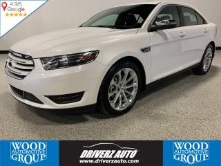Used 2018 Ford Taurus Limited AWD, REMOTE START, HEATED STEERING WHEEL for sale in Calgary, AB