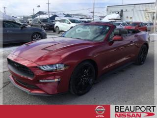 Used 2018 Ford Mustang CONVERTIBLE ***25 600 KM*** for sale in Beauport, QC