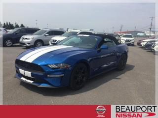 Used 2018 Ford Mustang CONVERTIBLE ***22 700 KM*** for sale in Beauport, QC