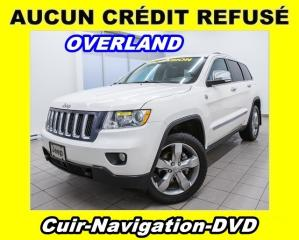 Used 2012 Jeep Grand Cherokee OVERLAND 4X4 for sale in Mirabel, QC