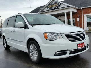 Used 2016 Chrysler Town & Country Touring, Leather Heated Seats, Pwr Doors/Gate, Remote Start, Back Up Cam for sale in Paris, ON