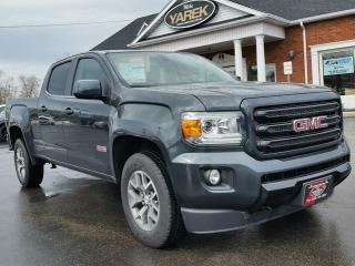 Used 2018 GMC Canyon 4x4 All Terrain DIESEL, NAV, Heated Leather Seats, Bluetooth, Remote Start for sale in Paris, ON