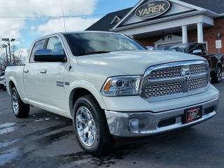 Used 2018 RAM 1500 Laramie 4x4, Leather Heated/Vented Seats, Sunroof, Remote Start, Apple Car Play, Bluetooth for sale in Paris, ON