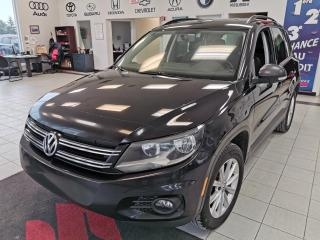 Used 2014 Volkswagen Tiguan HIGHLINE / TOIT PANORAMIQUE / CUIR / for sale in Sherbrooke, QC