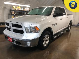 Used 2014 RAM 1500 OUTDOORSMAN * Crew Cab * 4WD * HEMI * U connect touchscreen * Compass * Tow hooks * Tow hitch w/ 6 pin connect * Tow/Haul assist * Bed liner * Trailer for sale in Cambridge, ON