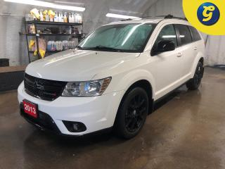 Used 2013 Dodge Journey SXT * Remote start * Push button ignition * U connect touchscreen * Phone connect * Hands free Steering wheel controls * Voice recognition * Keyless/P for sale in Cambridge, ON