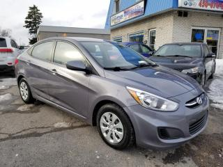 Used 2016 Hyundai Accent FULL - A/C - AUTOMATIQUE - FINANCEMENT for sale in Longueuil, QC