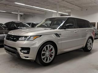 Used 2016 Land Rover Range Rover Sport AUTOBIOGRAPHY/MASSAGE SEATS/HEATED/COOLED SEATS/HEADS-UP DISPLAY! for sale in Toronto, ON