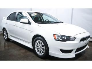 Used 2011 Mitsubishi Lancer 2011 Mitsubishi for sale in St-Jean-Sur-Richelieu, QC