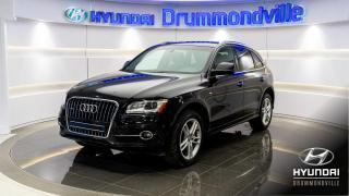 Used 2016 Audi Q5 PROGRESSIV + S-LINE + NAVI + TOIT + MAGS for sale in Drummondville, QC