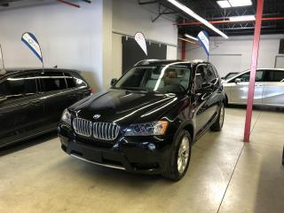 Used 2011 BMW X3 SEULEMENT 75000KM, GPS, AWD, TOIT PANO., for sale in Montréal, QC