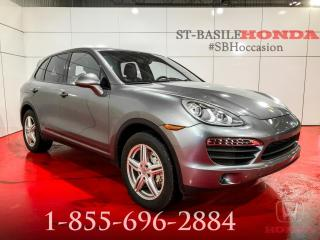 Used 2014 Porsche Cayenne S PANO + BOSE + NAVI + WOW !! for sale in St-Basile-le-Grand, QC