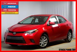 Used 2016 Toyota Corolla Le Camera De Recul for sale in Drummondville, QC