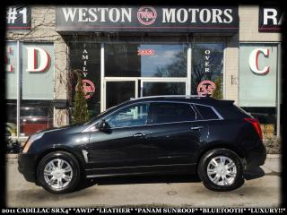 Used 2011 Cadillac SRX SRX4*AWD*LEATHER*PANAM SUNROOF*BLUETOOTH*LUXURY!!* for sale in Toronto, ON