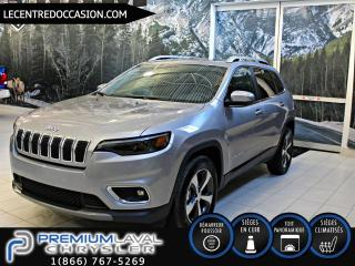 Used 2019 Jeep Cherokee LIMITED 4X4*CUIR/SIEGE VENTILLE/TOIT/V6* for sale in Laval, QC