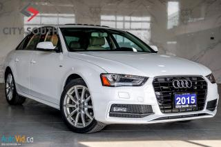 Used 2015 Audi A4 Progressiv plus--->>FINANCING AVAILABLE!!! for sale in Toronto, ON