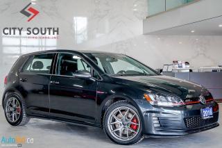 Used 2016 Volkswagen GTI AUTOBAHN for sale in Toronto, ON