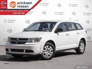 Used 2016 Dodge Journey Canada Value Pkg: SUPER LOW KMS, PUSH BUTTON START, POWER WINDOWS AND LOCKS for sale in Edmonton, AB