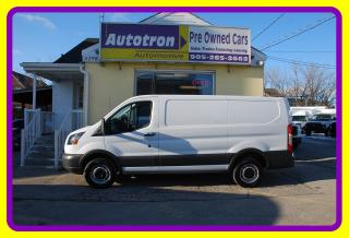 Used 2015 Ford Transit 250 3/4 Ton LOW ROOF Cargo Van, Loaded for sale in Woodbridge, ON