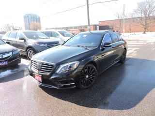 Used 2016 Mercedes-Benz S-Class S 550 for sale in BRAMPTON, ON