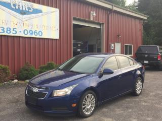 Used 2013 Chevrolet Cruze Eco for sale in Port Sydney, ON